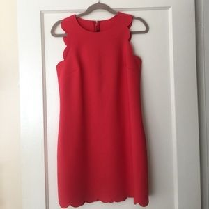 J.Crew Scalloped Dress