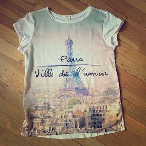 Forever 21 Paris T shirt