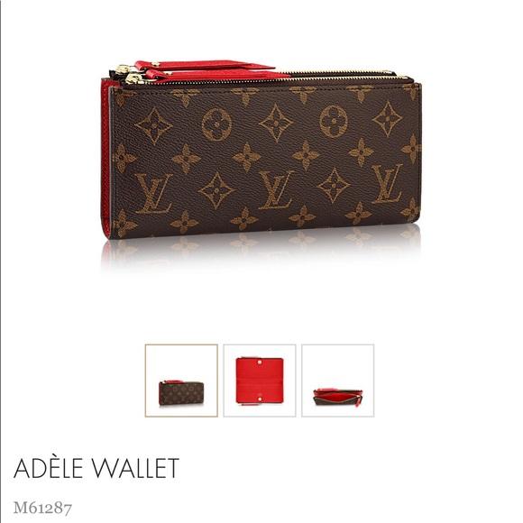 001cb53ac08 ❌SOLD❌ Adele wallet Louis Vuitton