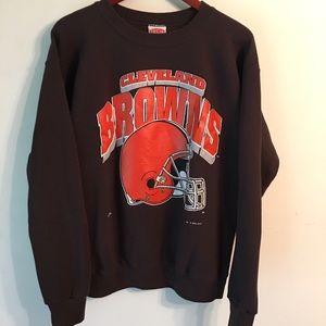 Vintage 1994 Nutmeg Cleveland Browns crew