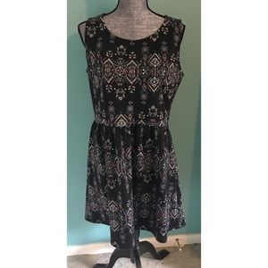 Pretty Sleeveless Dress Stretch XL