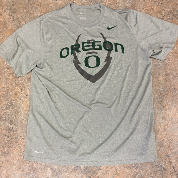 a648dab46264 Oregon Ducks Nike Dri-Fit Football Icon T-Shirt