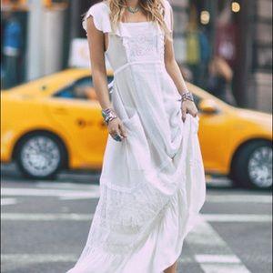 NWT Spell Gypsy Designs Boho Bella Maxi Dress S