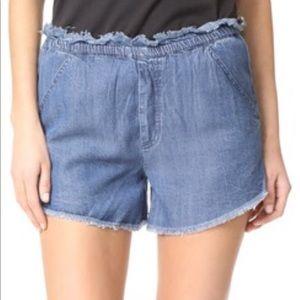 e434582c0014 Knot Sisters Jordan Shorts - Chambray