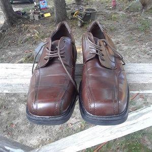 Via Europa men's dress Shoe's size 10m