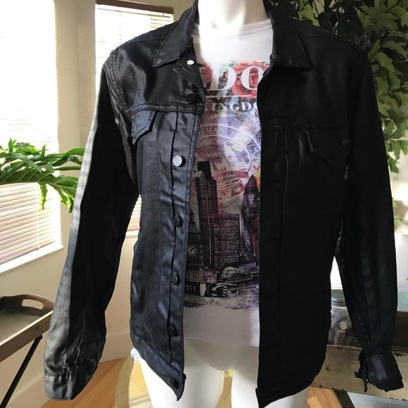 974c8a5a987 Comune Braydon Szafranski Other - Comune Braydon Szafranski waxed jean  jacket black
