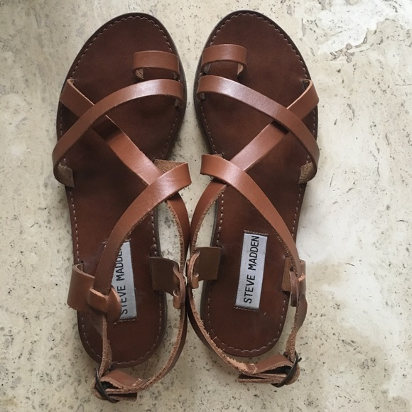 ca1aecd0beb Steve Madden Agathist Leather Strappy Sandal