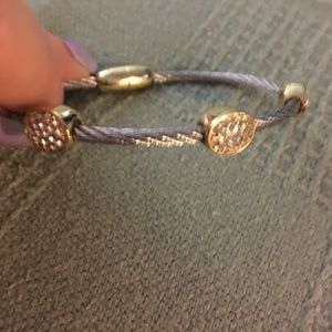 Jewelry - Stainless bracelet w/ gold plating