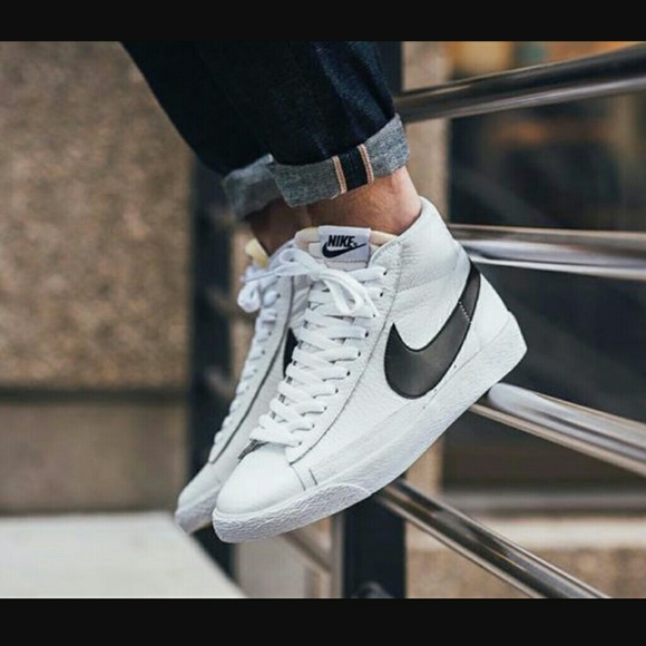 buy online e495f 6445f RARE Nike Blazer Mid Leather High-tops