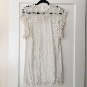 New Tularosa Dress in white/cream