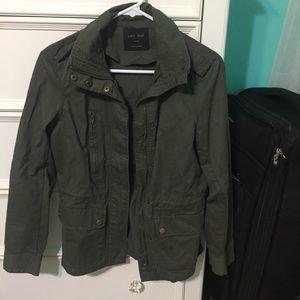 Jackets & Blazers - Olive Green Army Utility Jacket S