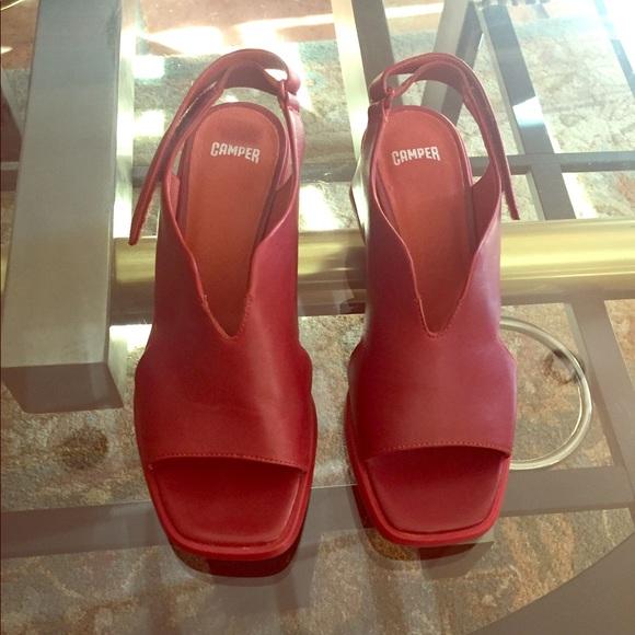 db2dbce9f43 Camper Shoes - Wine red Camper Karolina sandals