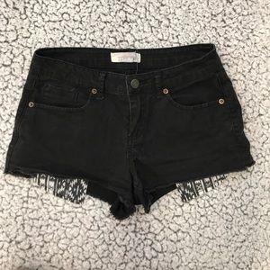 Black high waisted shorts 🎈