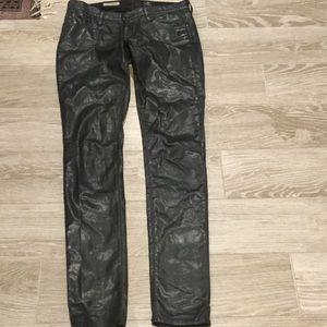 Ag Adriano legging super skinny waxed jean