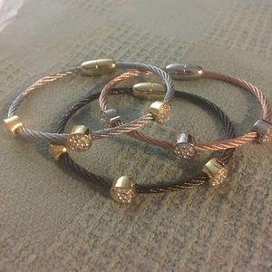 Jewelry - NWT stainless bracelets will not tarnish