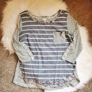 Anthropologie Postmark Top