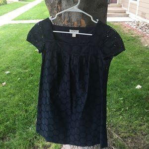 Loft 0P adorable navy dress. Last chance sale 💫