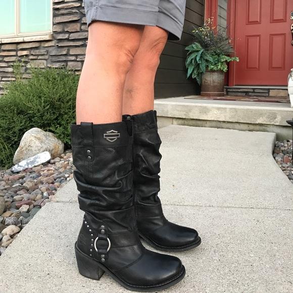 d5737dafba43 Harley-Davidson Shoes - Jana Harley Davidson boots