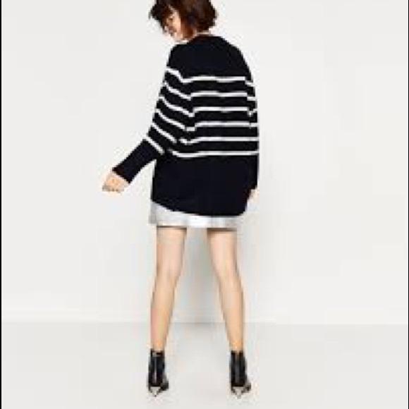 86% off Zara Sweaters - Zara Oversized Boyfriend Sweater from ...
