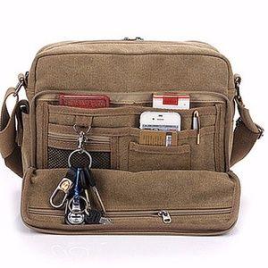 Canvas Messenger Bag Unisex New