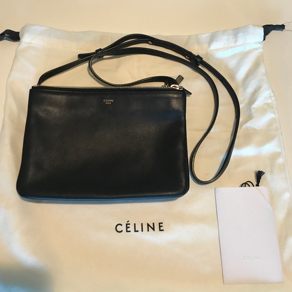 e630d3984a65 Celine Handbags - Classic Celine Small Trio in black ❤️