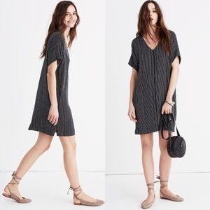 Madewell Novel Dress – Chalkboard Stripe