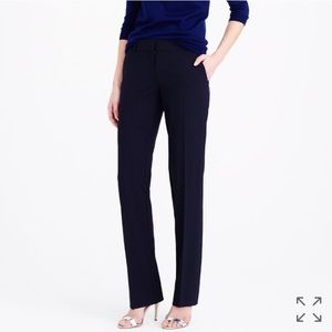 J. Crew Italian Stretch Wool suiting trousers 2P