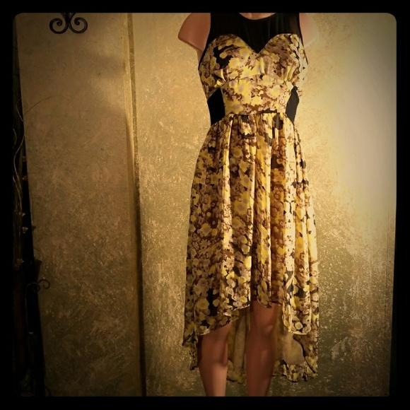 a17629c728a Gianni Bini Dresses   Skirts - EUC GIANI BINI Hi-Lo Midi Dress