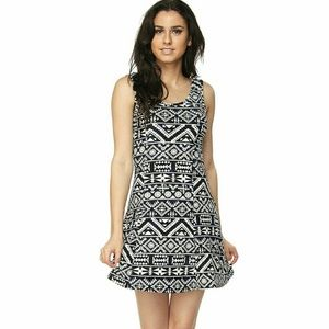 Dresses - Aztec print dress