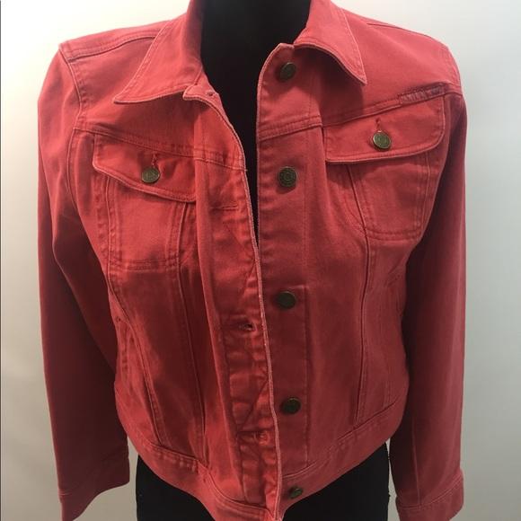 db9f6ea00c Denim   Supply Ralph Lauren Jackets   Blazers - Ralph Lauren Polo Red  Distressed Jean Jacket