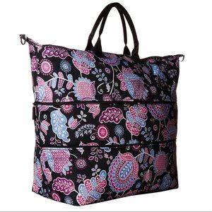 NWT Large Vera Bradley Expandable Bag