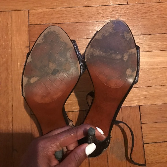 Shoes - Zara Sparkling heels