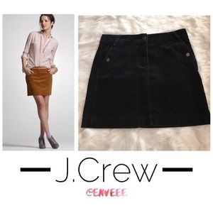 J. Crew Mini Corduroy Skirt, Like New