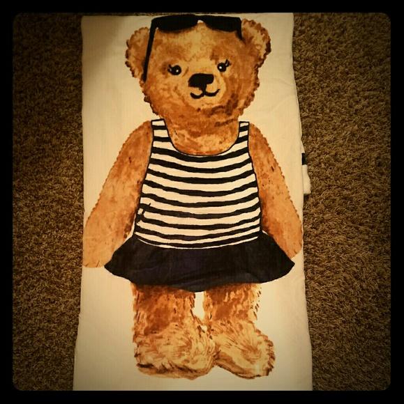 Ralph Lauren Mens Beach Towel: Limited Edition 2017 Polo Bear
