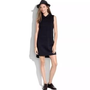 ❗️SALE ❗️Madewell Black Shirtail Shift Dress 🖤