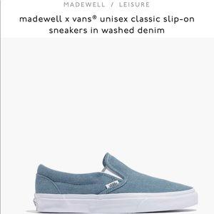 Madewell Vans