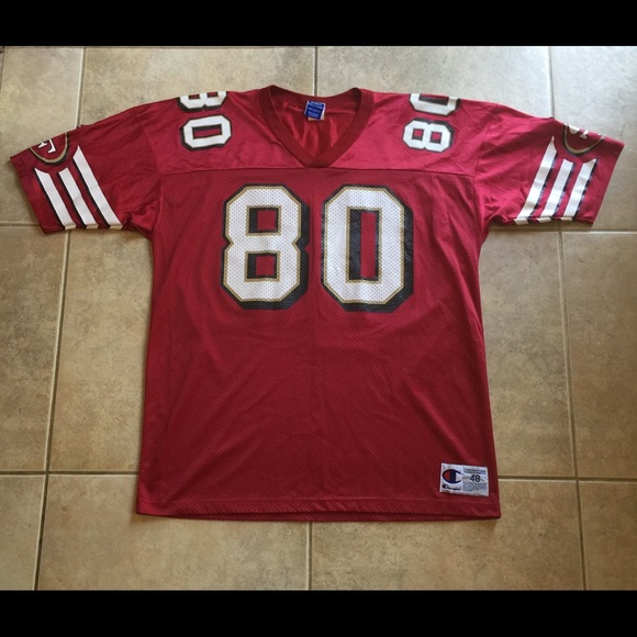 promo code e7a26 d79d9 Jerry Rice San Francisco 49ers Champion Jersey