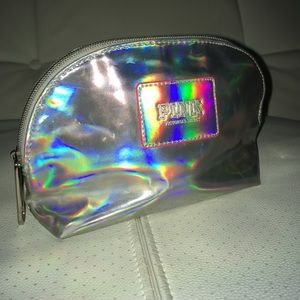 Holographic PINK by Victoria's Secret makeup bag
