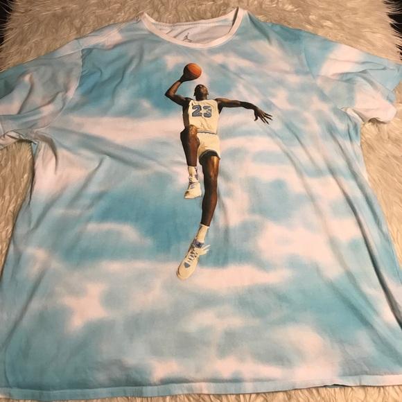 ed367897a98 Jordan Shirts | Rare Flight Over Retro Clouds | Poshmark