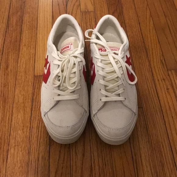 e6e3d92c9e8 Converse Shoes - Converse Pro Leather Suede Vintage low top sneaker