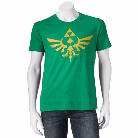 5e4372063 zelda Shirts | Nintendo The Legend Of Gold Triforce Tshirt | Poshmark