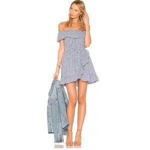 Lovers + Friends Dazzling Gingham Mini Dress
