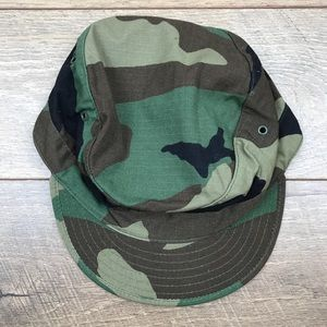 Other - Military Style Camo Hat