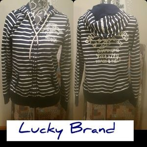 Lucky Brand Hooded Jacket! Size Large