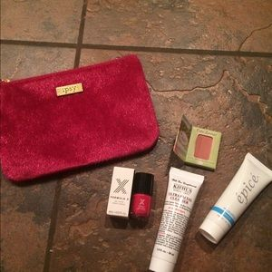 Other - Ipsy bag and makeup samples new