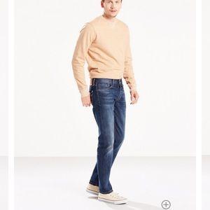 Men's Levi slim fit stretch jeans