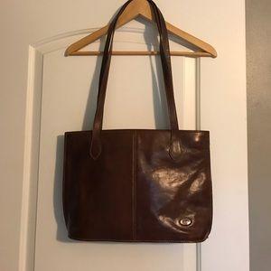 Handbags - Genuine Italian leather tote