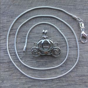 Jewelry - Carriage Pearl Cage Necklace