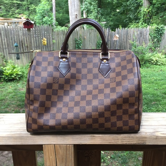 332a8c399036 Louis Vuitton Handbags - Authentic Louis Vuitton Speedy 30 Damier Ebene