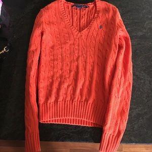 Ralph Lauren sport sweater v neck xs